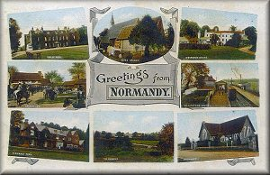 Greetings from Normandy - Postcard