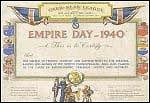 Empire Day Certificate - Click for an enlargement