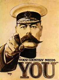 "Lord Horatio Kitchener, ""Your Country Needs You"""
