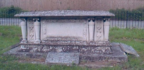 The Pirbright Tomb from the south side