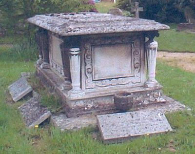 The Pirbright Tomb from the west side
