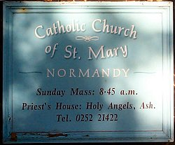 St. Mary's, Sign Board