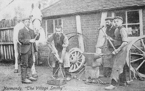 Normandy Smithy about 1906